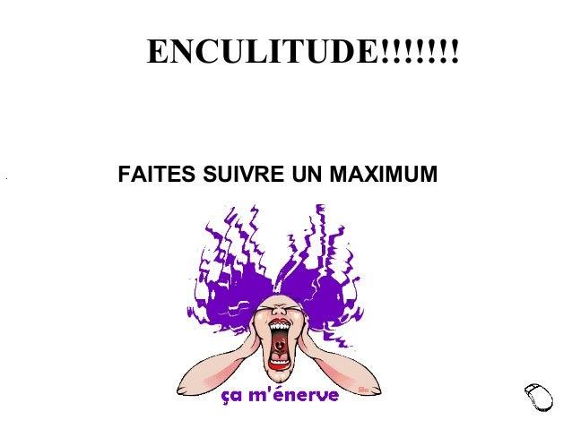 ENCULITUDE!!!!!!! ·FAITESSUIVREUNMAXIMUM