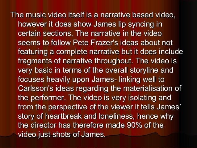 Let it go- James Bay