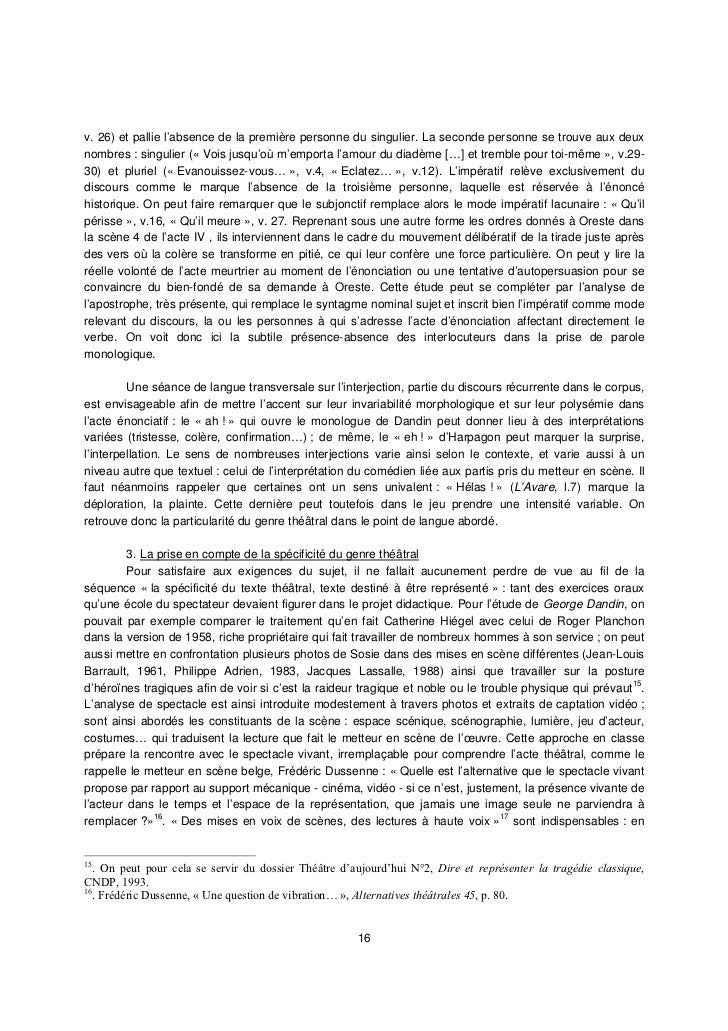 dissertation andromaque tragdie