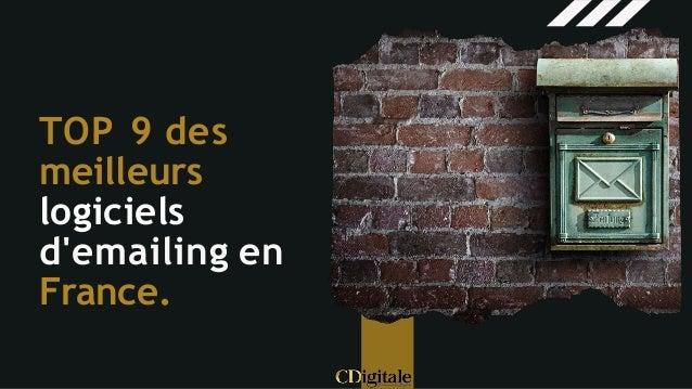 TOP 9 des meilleurs logiciels d'emailing en France.