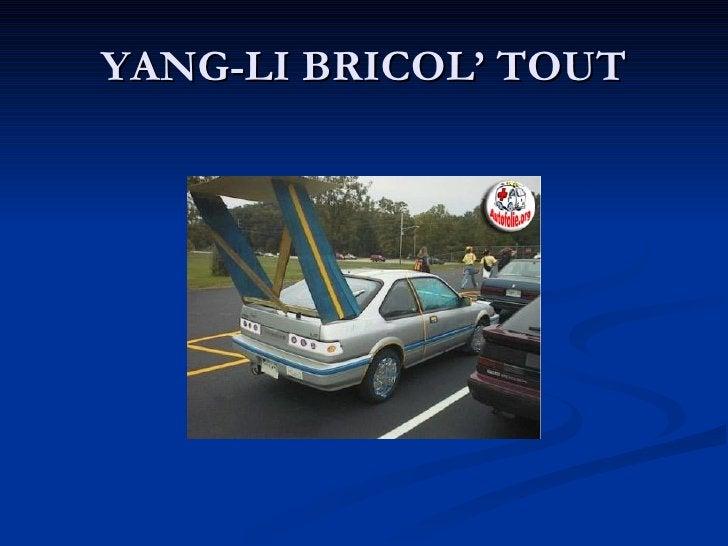 YANG-LI BRICOL' TOUT