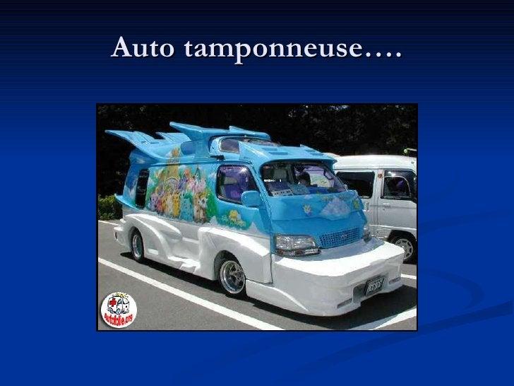 Auto tamponneuse….