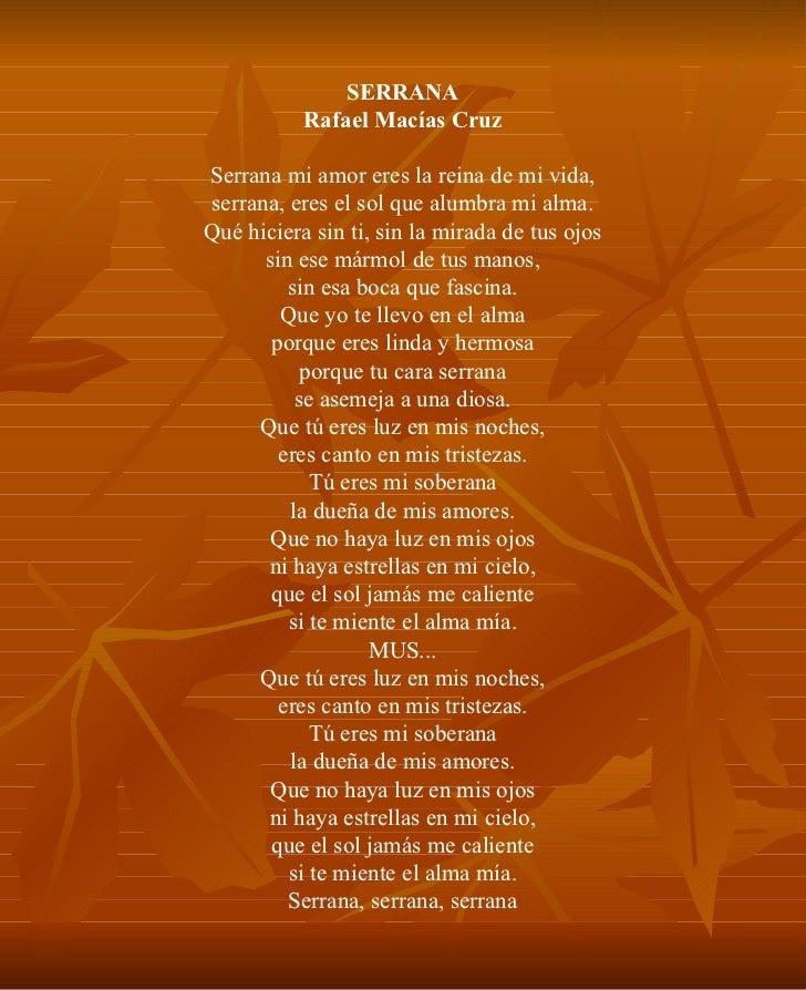 Letra De Las Canciones Con S