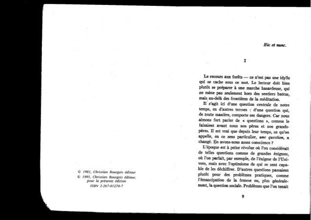 Le Traité du Rebelle de Ernst Jünger, part 1 of 3 Slide 2