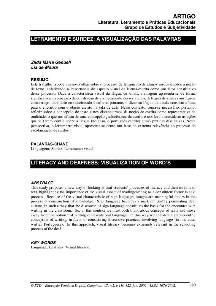 ARTIGO                                            Literatura, Letramento e Práticas Educacionais                          ...