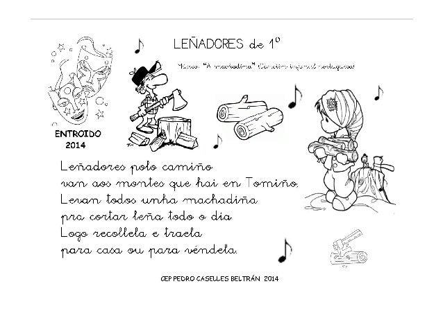 Cantigas para o Entroido 2014