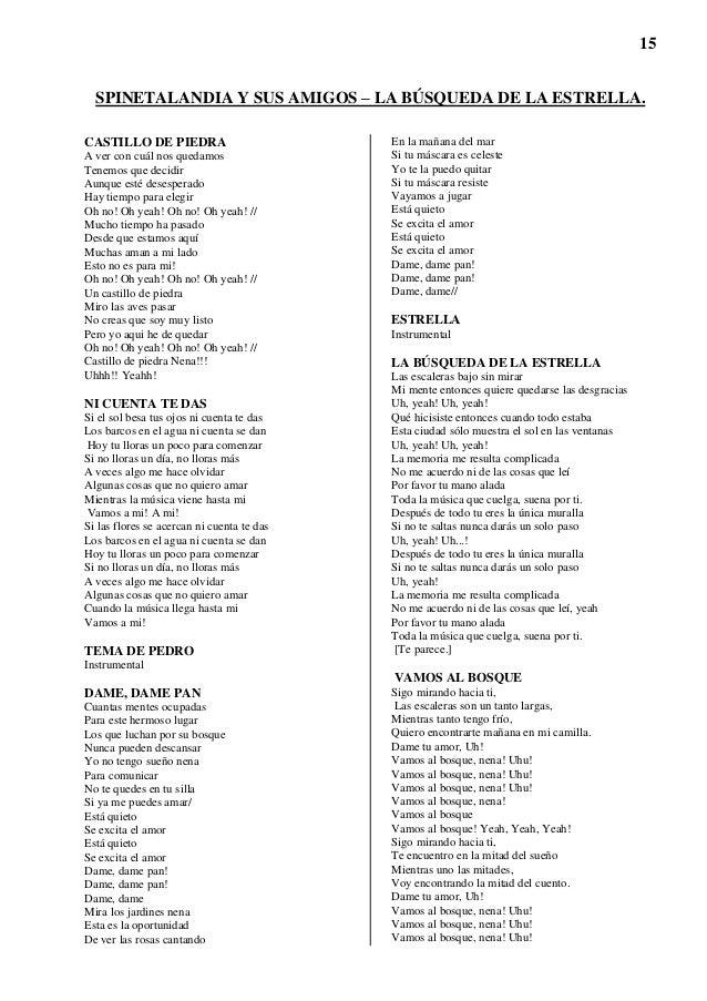 Letras Completas Luis Alberto Spinetta