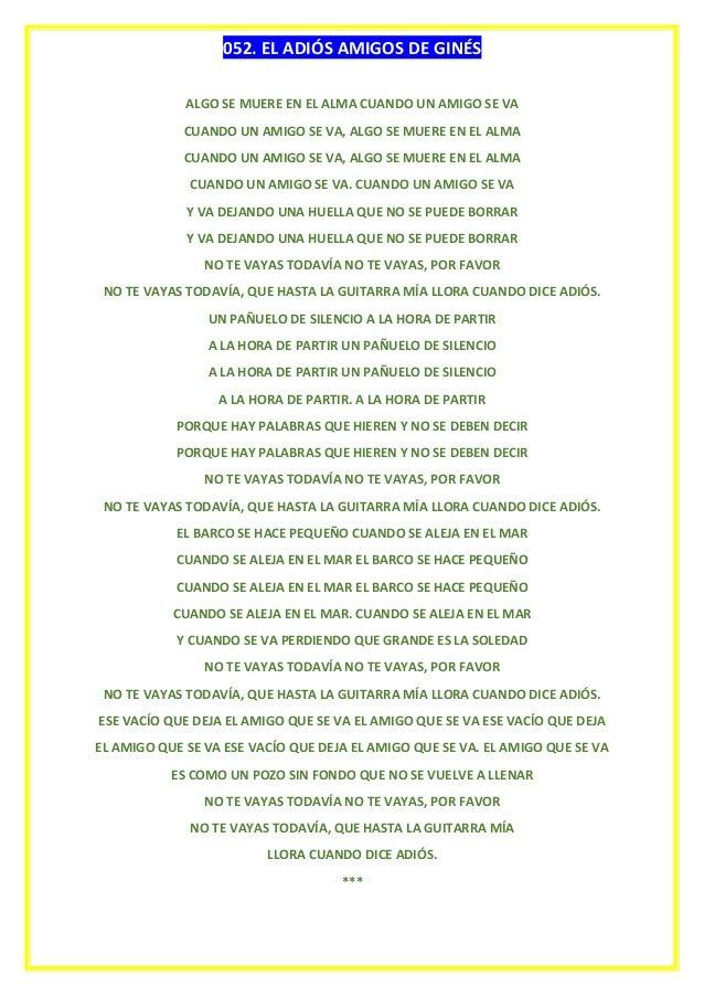 Clase de canto de juan carlos ii for Cancion adios jardin querido
