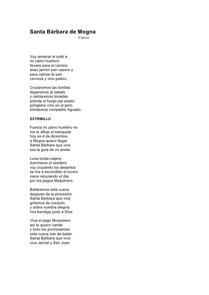 Letras Del Chango Huaqueño