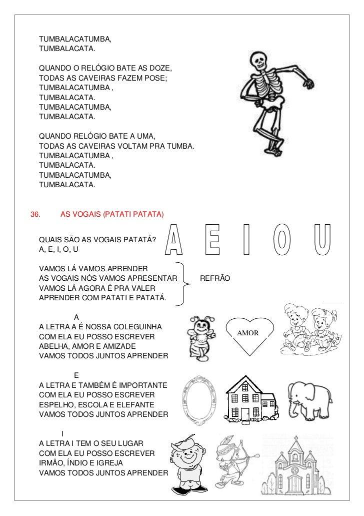 Populares Letras de músicas cd infantil 2010 PS33