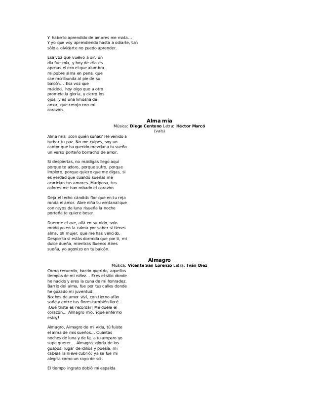 El alma en pie lyrics