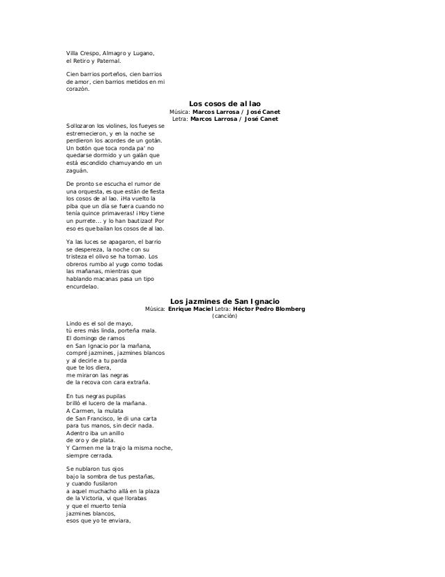 Letras de tango1.2 lad z