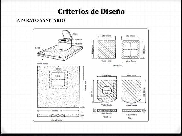 Letrinas secas for Disenos de sanitarios