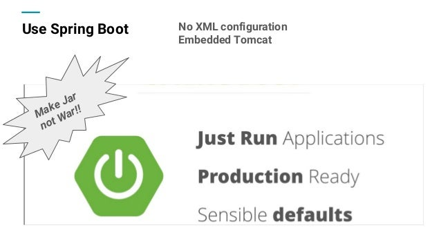 Let's be productive with spring boot