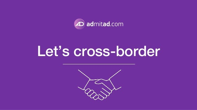 Let's cross-border