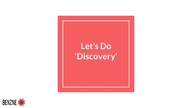 Let's Do 'Discovery'