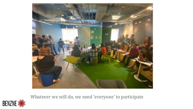 Whatever we will do, we need 'everyone' to participate