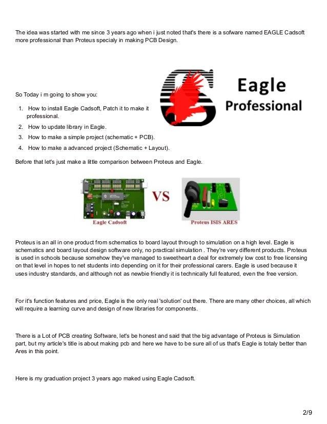 how to use eagle pcb