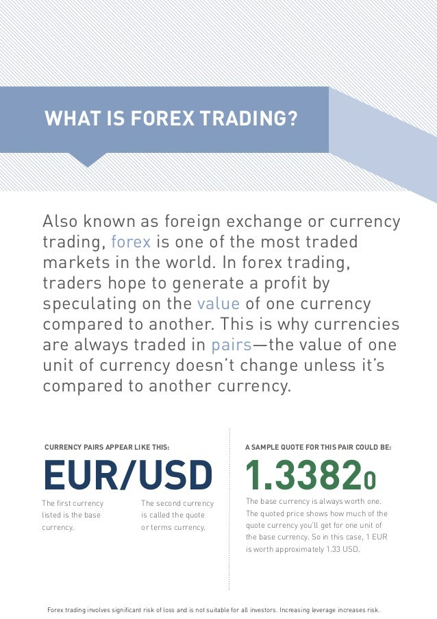 Currency currency forex forex information knowforex.info trade trading forex traders glossary