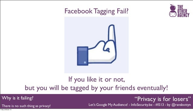 Facebook Is For Losers