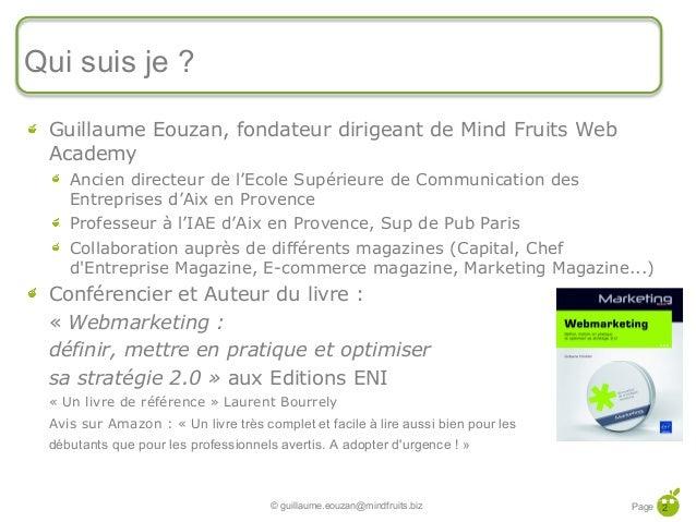 Let's go to E-market 2013 : Les Commandements Web-Marketing pour 2013 Slide 2