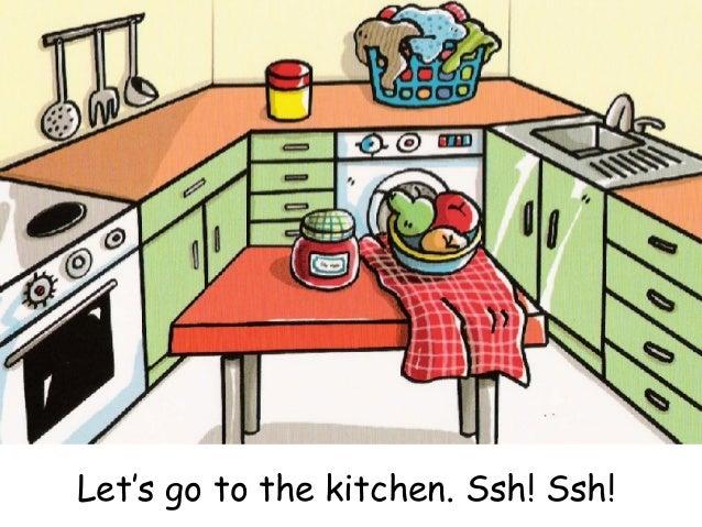 Letu0027s Go To The Kitchen.