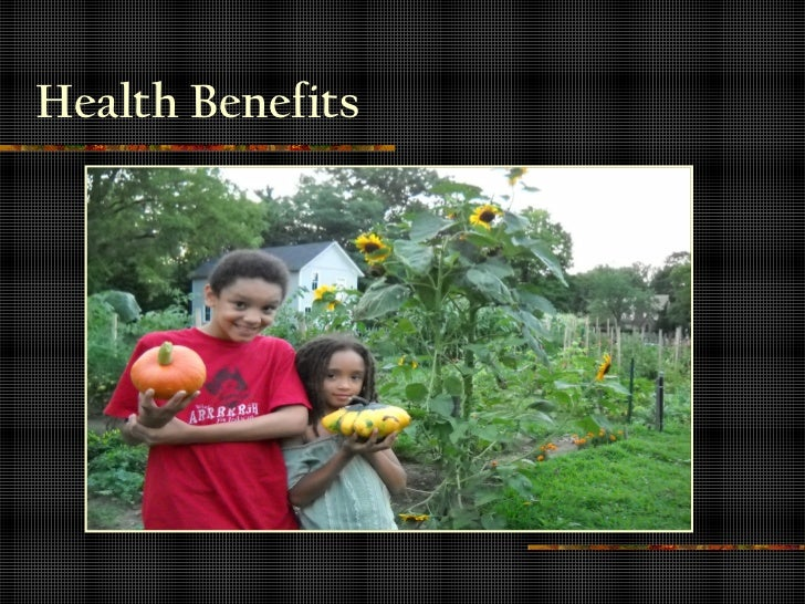 Benefits of Community Garden 2010