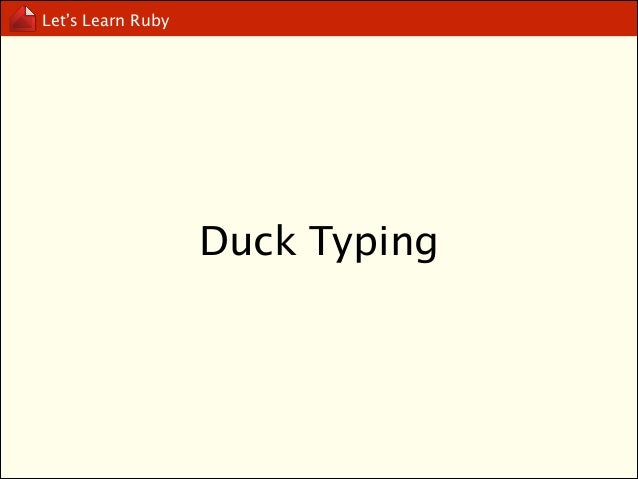 Let's Learn Ruby  include v.s extend