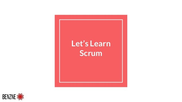 Let's Learn Scrum