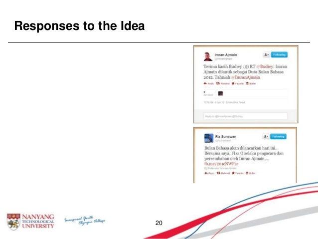 Responses to the Idea 20