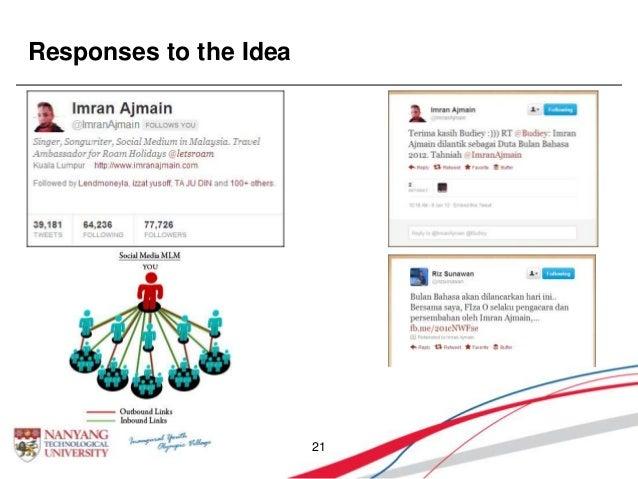 Responses to the Idea 21