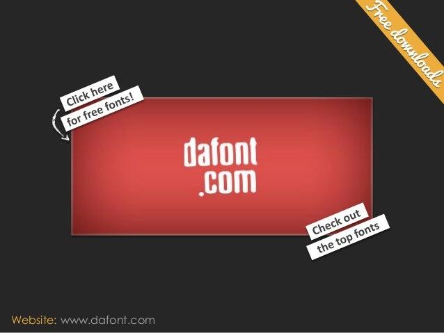 Website: www.dafont.com