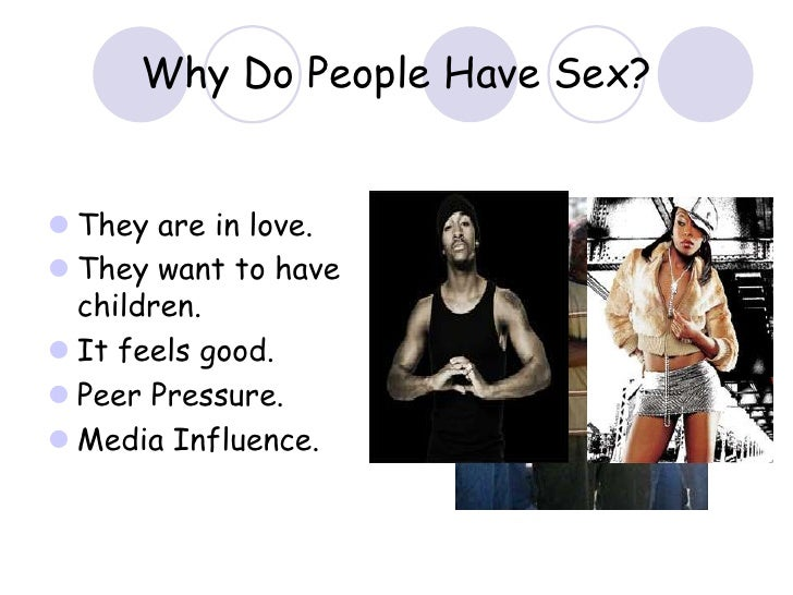 What makes people want to have sex