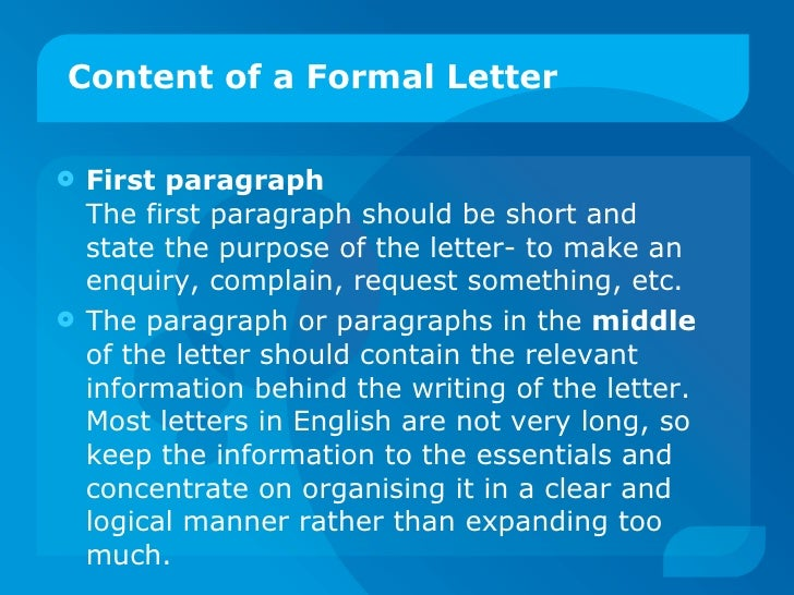Formal Letter Writing Male Or Female Name First
