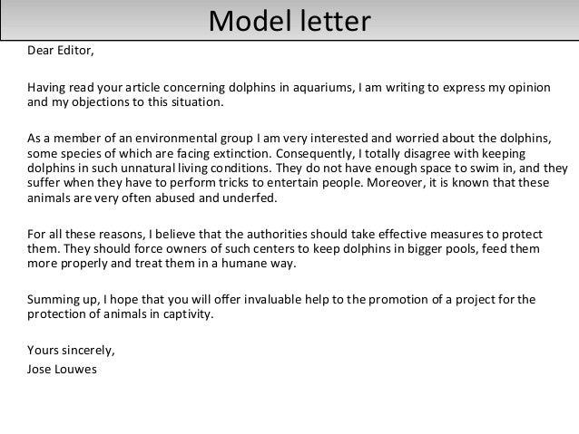 ... 17. Model Letter ...