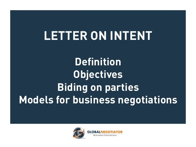 Letter of intent models for business negotiations letter on intent definition objectives biding on parties models for business negotiations altavistaventures Choice Image