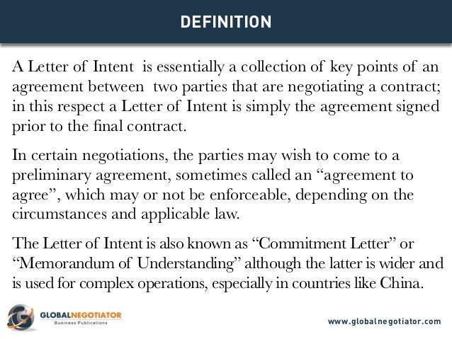 Letter Of Intent To Do Business Together How To Write A Letter Of – Letter of Intent to Do Business Together