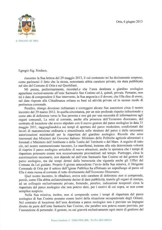 Lettera al sindaco_di_oria_-_zoo_san_cosimo[1]