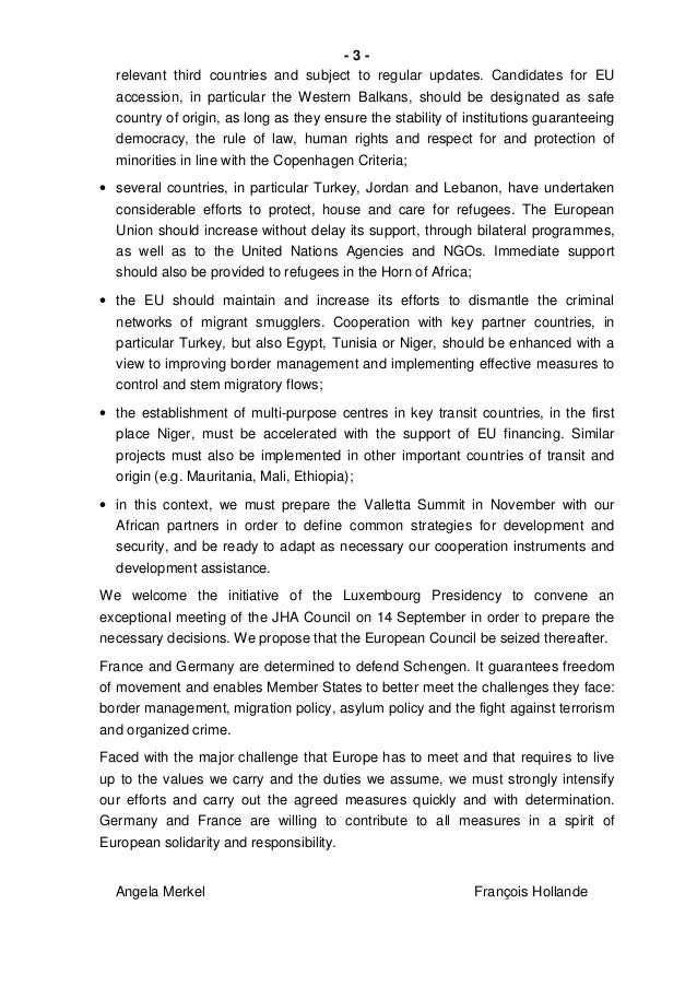 Letter Chancellor President Migration English – Country of Origin Letter