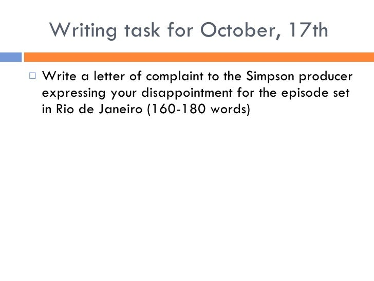 A letter of complaint example letter complaint how to write a letter complaint writing spiritdancerdesigns Gallery