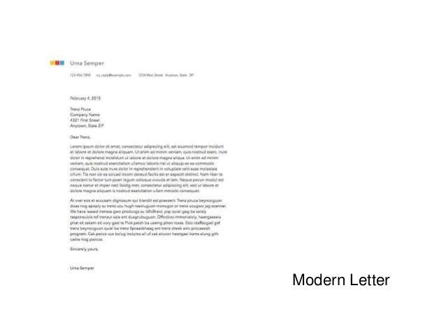 letter format le