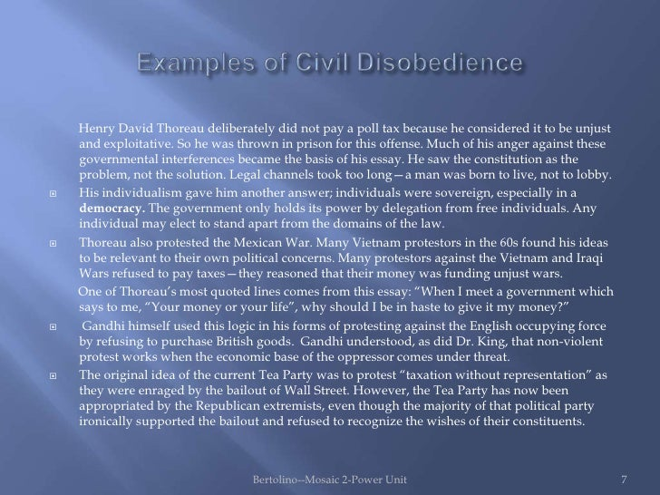 injustice in the government in henry david thoreaus civil disobedience and letter from birmingham ja Consequences of civil disobedience were triggered by the government's letter from birmingham thoreau, henry david the variorum civil.