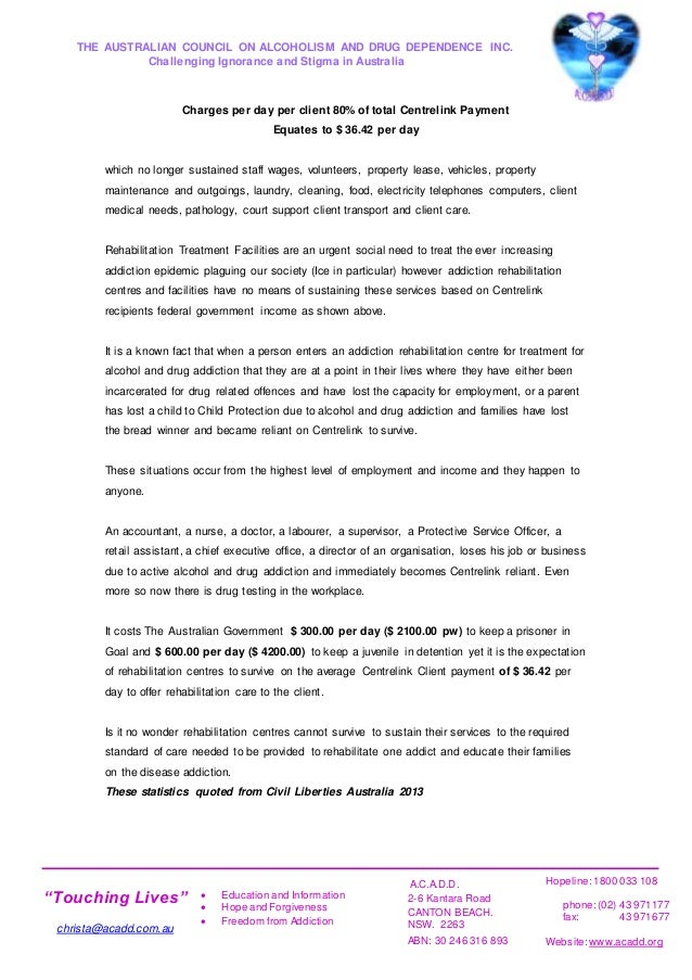 letter of acadd services closure june 2016