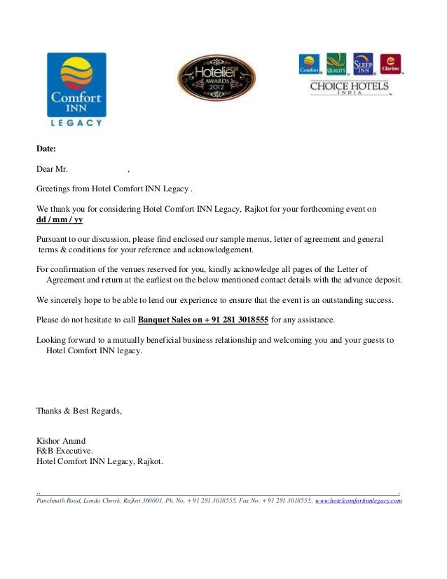 Hotel room contract letter dolapgnetband hotel room contract letter altavistaventures Choice Image