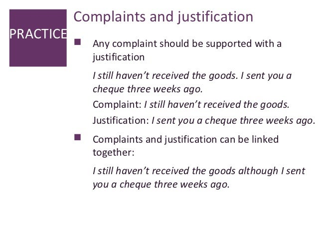 Letter of complaint complaints and justificationpractice spiritdancerdesigns Image collections