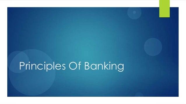 1Principles Of Banking