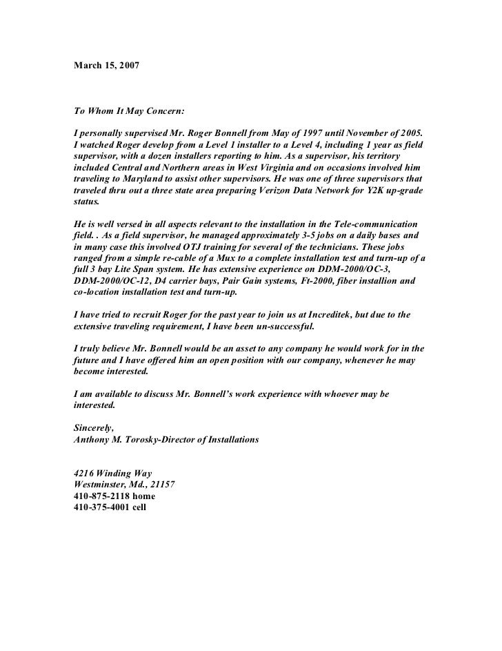 Letter of recommendation from supervisor tiredriveeasy letter of recommendation from supervisor thecheapjerseys