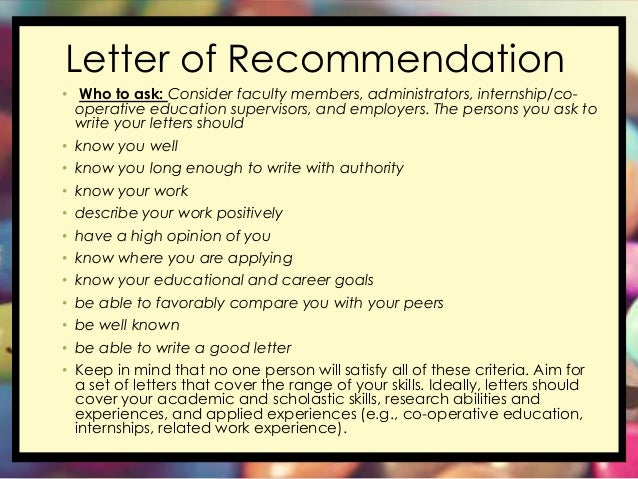 College Recommendation Letters | How to Ask Teachers