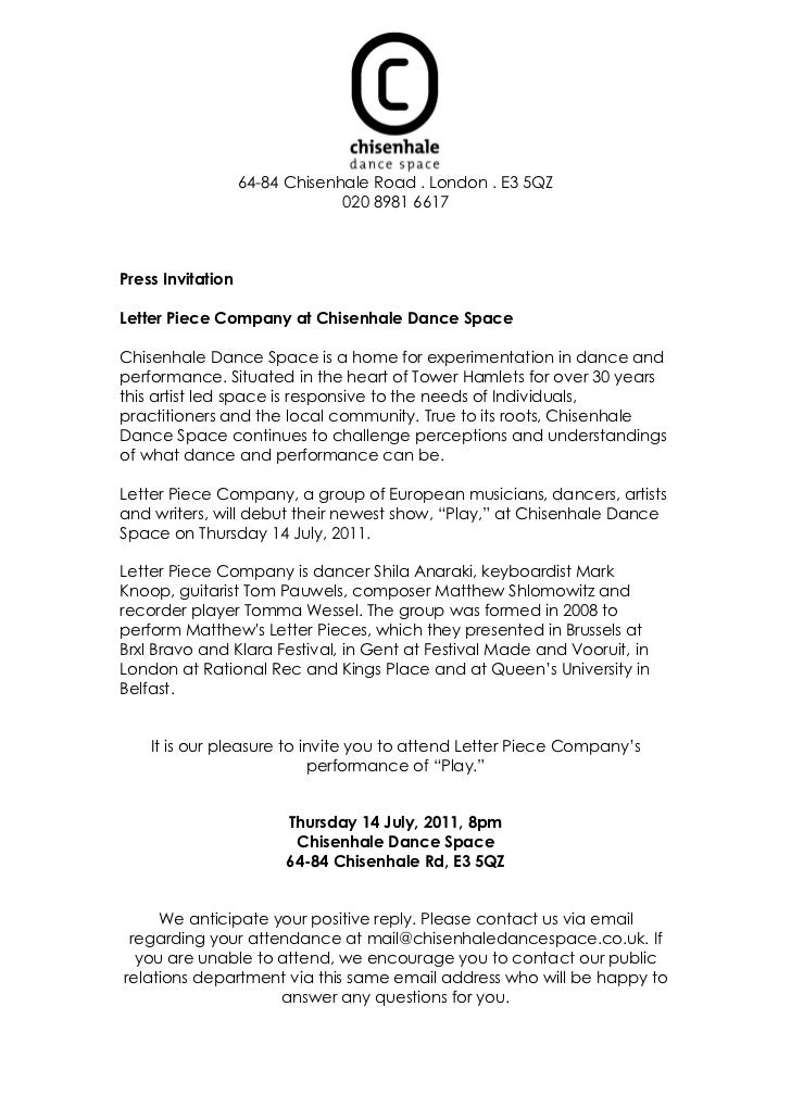 Cds press invitation letter piece company 64 84 chisenhale road london e3 5qz 020 8981 6617press invitationletter stopboris Gallery