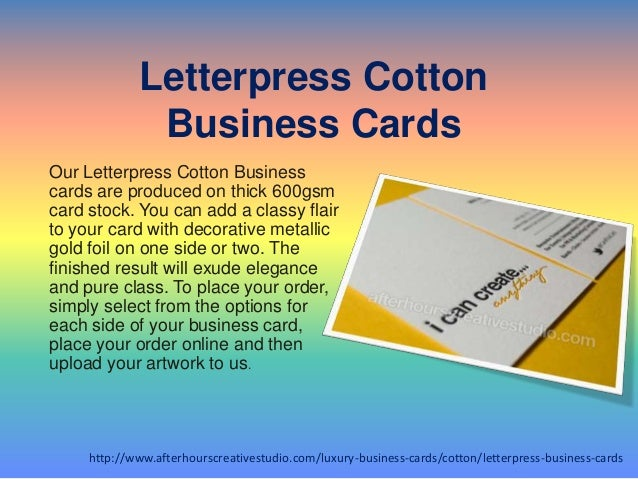 Buy online letterpress cotton business cards services letterpress cotton business cards reheart Choice Image